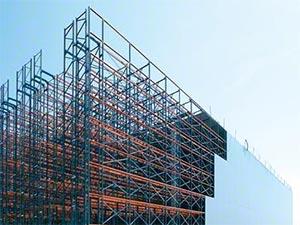 Clad Rack Structure