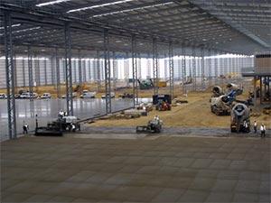Large Pour Construction